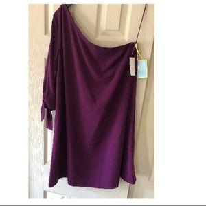 CeCe One Shoulder Dress